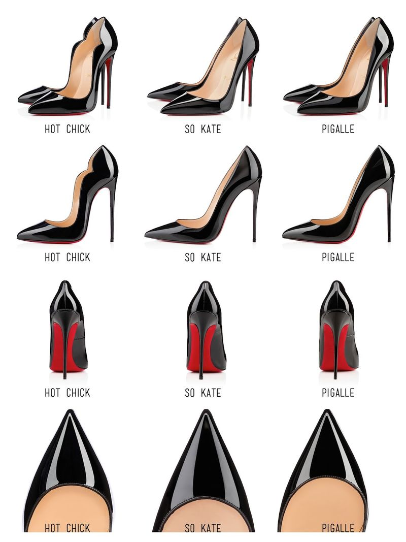 Christian louboutin hot chick vs so kate vs pigalle